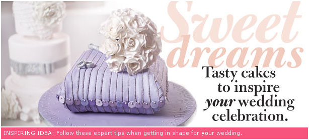 """Sweet Dreams: Tasty cakes to inspire your wedding celebration"" at WeddingBells.ca"