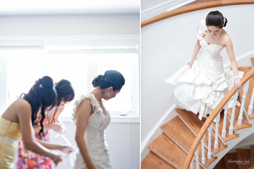 Christopher Luk Weddings 2011 - Assunta and Richard - Timothy Eaton Memorial Church - Bride Getting Ready