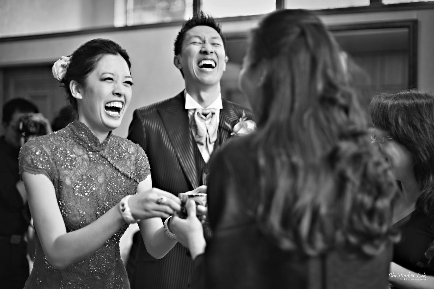 Christopher Luk Wedding - Saturday, May 21, 2011 - Stephanie Kwan and Ricky Chan - Richmond Hill Christian Community Church and The Manor Event Venue in Kettleby - Chinese Tea Ceremony - Serving Tea
