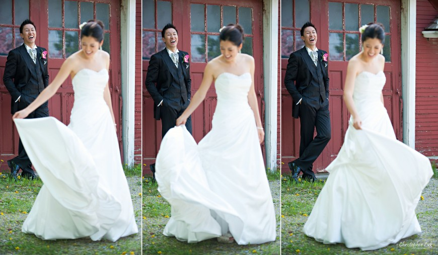 Christopher Luk Wedding - Saturday, May 21, 2011 - Stephanie Kwan and Ricky Chan - Richmond Hill Christian Community Church and The Manor Event Venue in Kettleby - Bride and Groom Creative Session Portrait