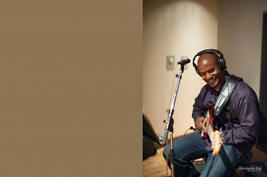 Christopher Luk 2013 - Revolution Recording - Day 1 - Toronto Wedding Portrait Lifestyle Photographer - Bass Player Bassist Fender Jazz