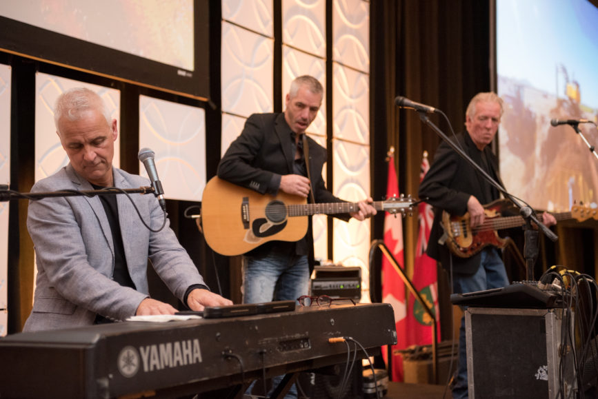 ORBA 2016 Ontario Road Builders Association Annual General Meeting Convention Expo Infrastructure Transportation Fairmont Royal York Hotel Toronto Conference Event Photographer - Canadian Room Stage Live Band Blackwater Trio