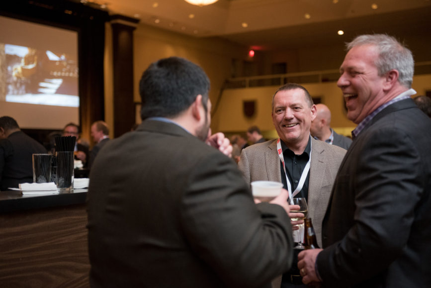 ORBA 2016 Ontario Road Builders Association Annual General Meeting Convention Expo Infrastructure Transportation Fairmont Royal York Hotel Toronto Conference Event Photographer - Attendees Candid Smile Networking Conversations