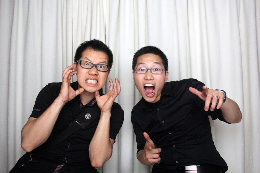 Christopher Luk and Glendon Tang - Dinithi and Steve's Wedding - Photobooth