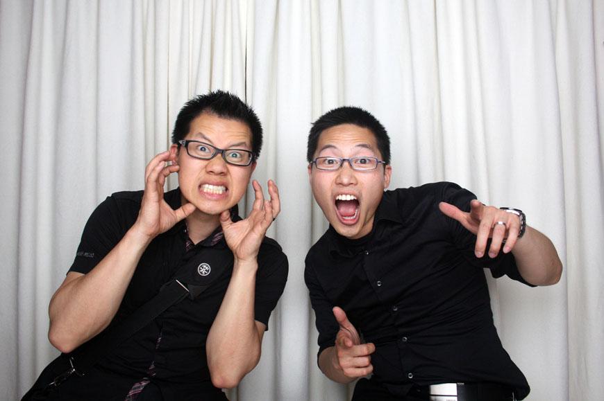 Christopher Luk and Glendon Tang - Dinithi and Steve's Wedding - Photobooth