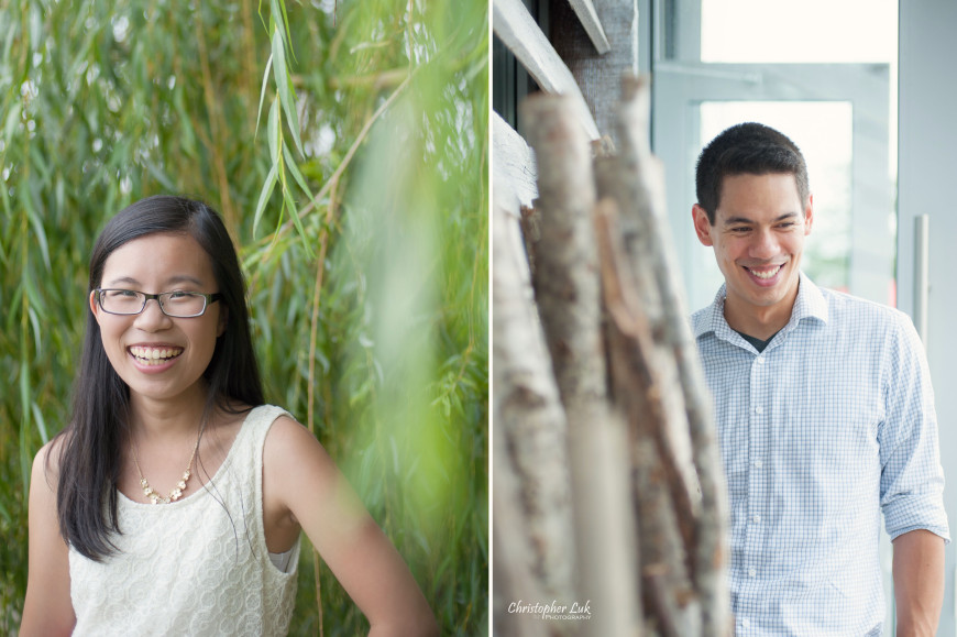 Christopher Luk 2013 - Candy and Francis' Engagement Session - Woodbine Beach Ashbridge's Bay Park - Toronto Wedding Event Photographer - Bride and Groom Portraits Willow Tree