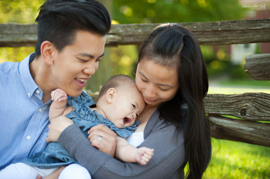 Christopher Luk 2014 - The W Family Baby Girl Lifestyle Session - Toronto Wedding Event Photographer - Mom Dad Baby Girl Sunrise Sunset Relaxed Candid Natural Photojournalistic Hug Play Laugh