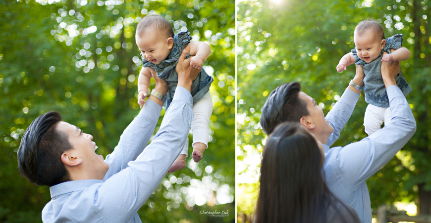 Christopher Luk 2014 - The W Family Baby Girl Lifestyle Session - Toronto Wedding Event Photographer - Mom Dad Baby Girl Sunrise Sunset Relaxed Candid Natural Photojournalistic Play Flying