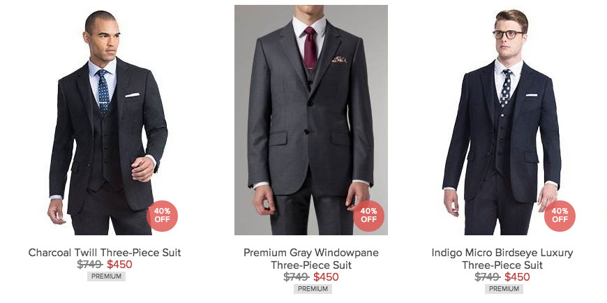 Indochino Black Friday 2014 Christopher Luk Photography Toronto Wedding Event Photographer Recommendations - Charcoal Twill Premium Gray Windowpane Indigo Micro Birdseye Luxury Three-Piece Suit