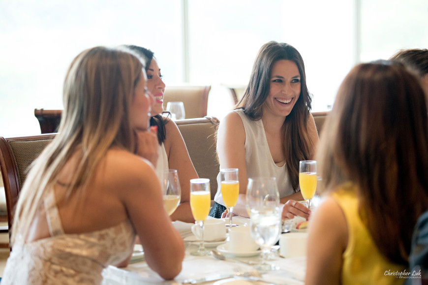 Christopher Luk 2015 - Bridal Shower at The Bayview Golf and Country Club Wedding Engagement Bride Bridesmaids Family Friends Candid Photojournalistic Natural Laugh