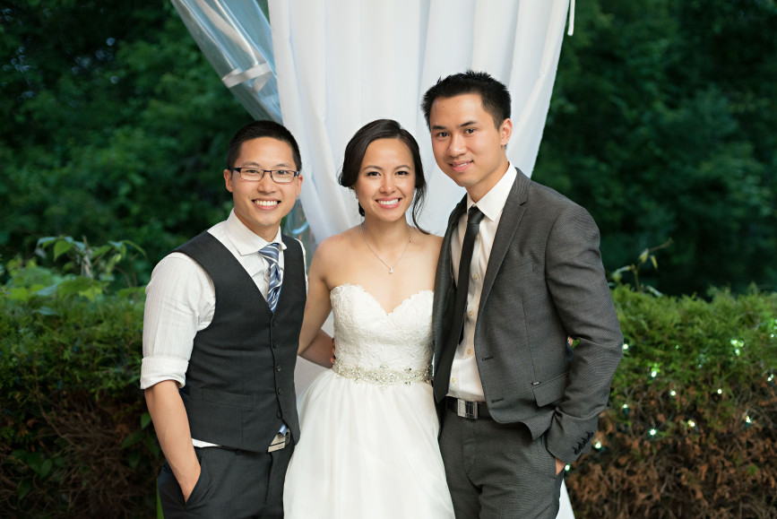Christopher Luk 2015 - Karen and Scott's Wedding - Miller Lash House University Toronto Scarborough UTSC Outdoor Summer Ceremony Reception - Bride Groom Photographer