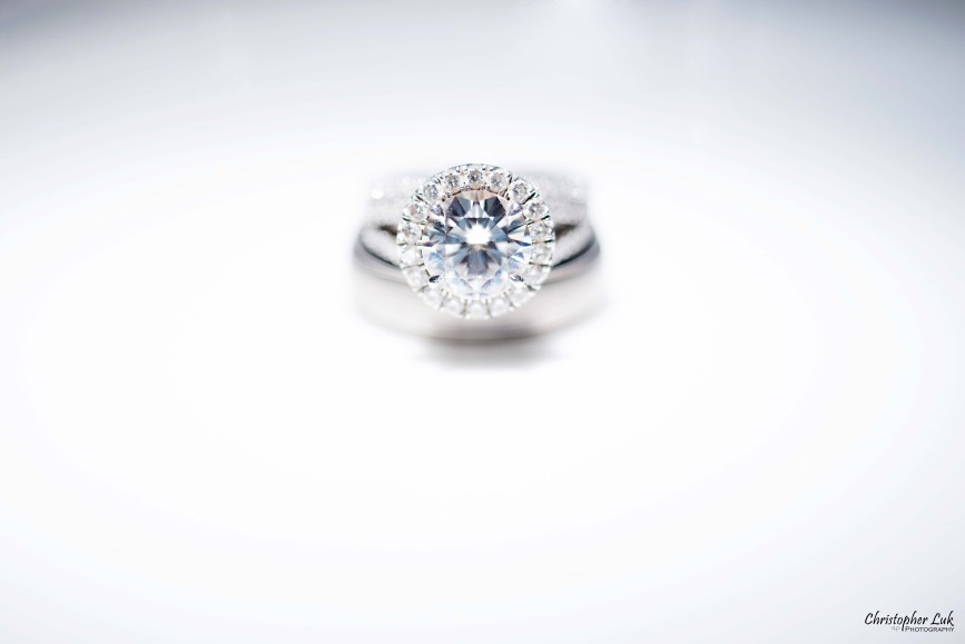 Christopher Luk 2015 - Shauna & Charles Wedding - Wedding Engagement Diamond Round Brilliant Ring