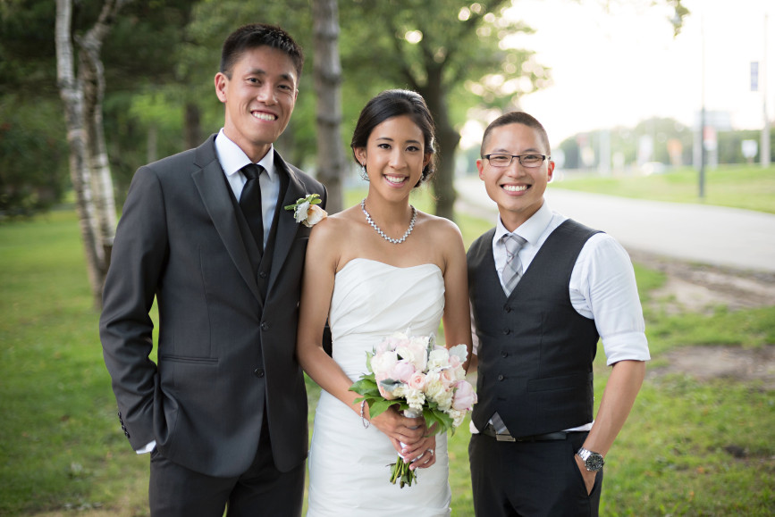 Christopher Luk 2015 - Jaynelle and Ernest's Wedding - Toronto Chinese Baptist Church Osgoode Hall Argonaut Rowing Club Henley Room Waterfront Venue - Bride Groom Photographer Smile