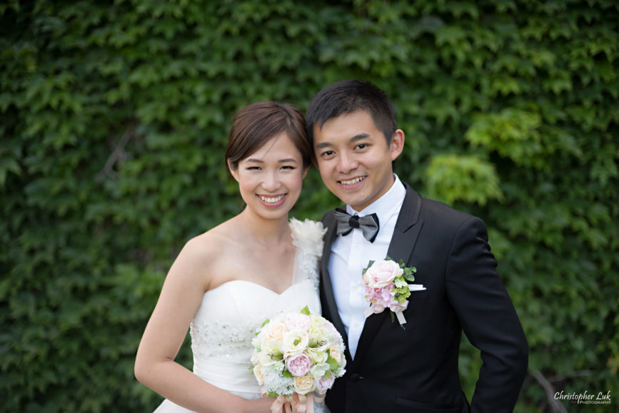 Christopher Luk (Toronto Wedding, Portrait and Event Photographer): Alison and Kenneth's Pre-Wedding Session at The University of Toronto St George Campus Downtown Creative Relaxed Natural Candid Photojournalistic Documentary Lifestyle Bride and Groom Green Ivy Vine Smiley Faces