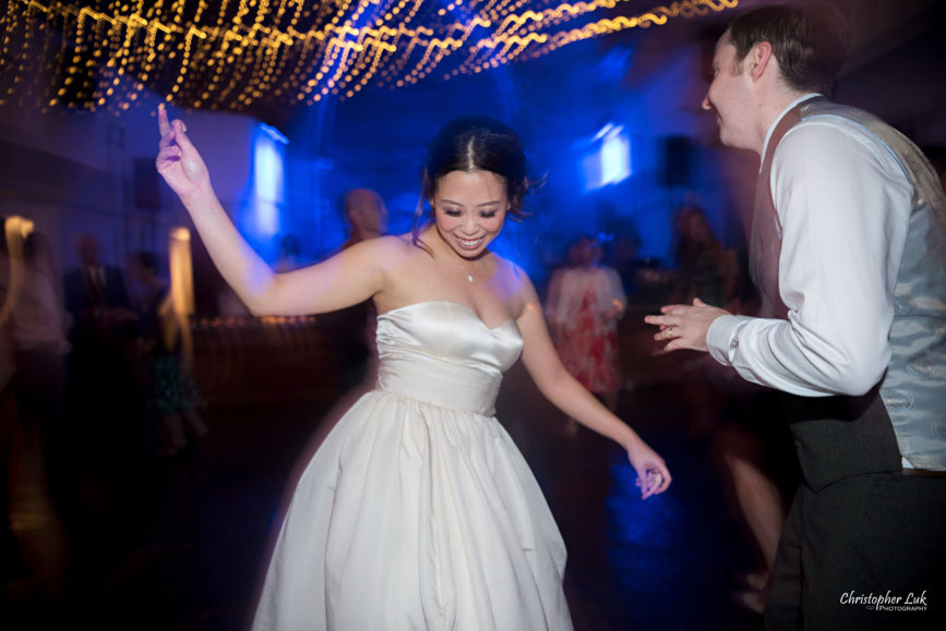 Christopher Luk (Toronto Wedding Photographer): Berkeley Church Vintage Rustic Ceremony Candlelight Dinner Reception Pinterest Worthy Details Candid Natural Photojournalistic Dance Floor Bride Groom Dancing
