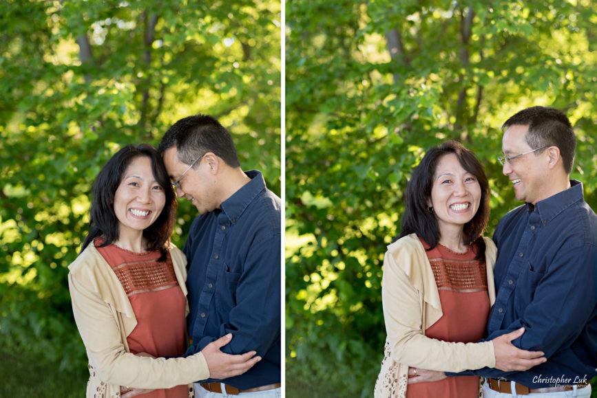 Toronto Wedding & Portrait Photographer: Natural Photojournalistic Candid Mom Dad Parents Hug Smile Happy