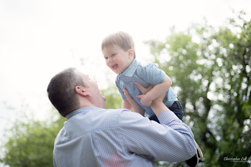 Photojournalistic Candid Natural Father Dad Son Toddler Boy Laugh Smile Fun Playful
