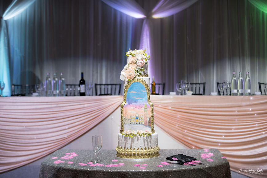 Christopher Luk Toronto Wedding Photographer - Casa Loma Conservatory Ceremony Creative Photo Session ByPeterAndPauls Paramount Event Venue Space Fine Cakes by Zehra Custom Future Venice Aria Anime Manga Head Table