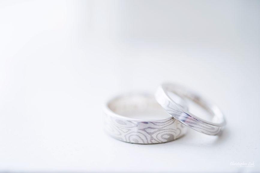 Toronto Wedding Photographer Heintzman House Winter Wedding Historic Estate Event Venue Handmade Rings Bands The Den DIY Goldsmith Jeweller Jewelry Mokume Gane