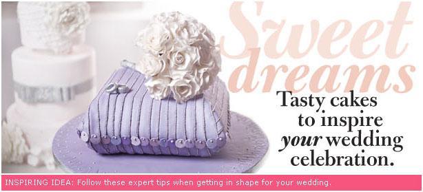 "WeddingBells.ca: ""Sweet Dreams: Wedding cakes to inspire your wedding celebration"""
