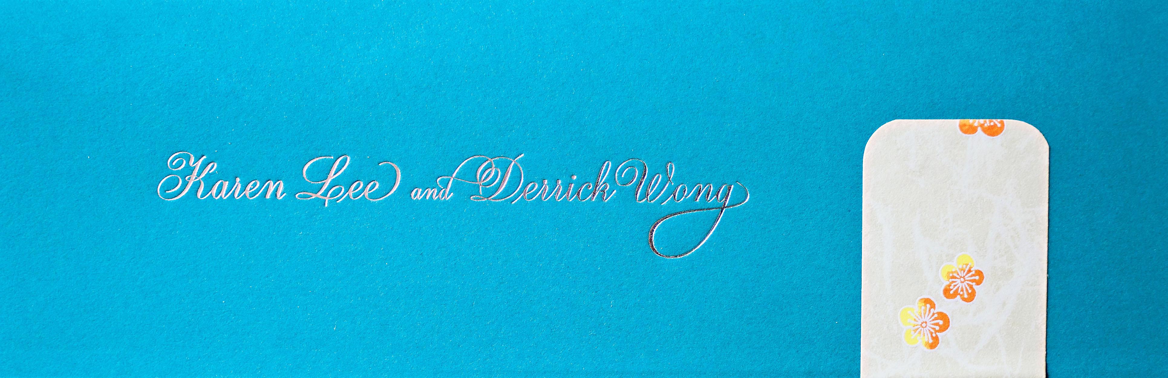 Karen and Derrick's Wedding – Cornerstone Chinese Alliance Church