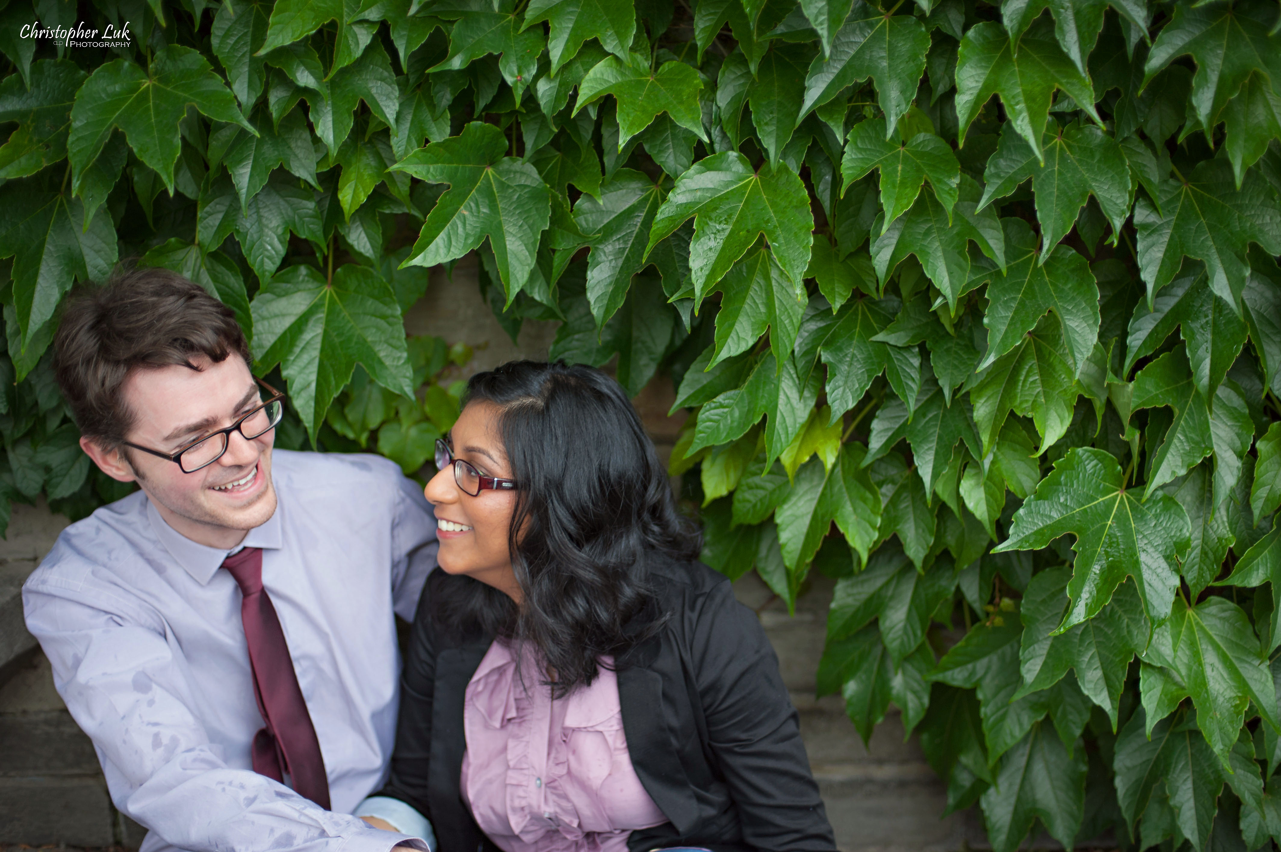 Dinithi and Steve's Engagement Session – University of Toronto – Wedding, Portrait & Event Photographer