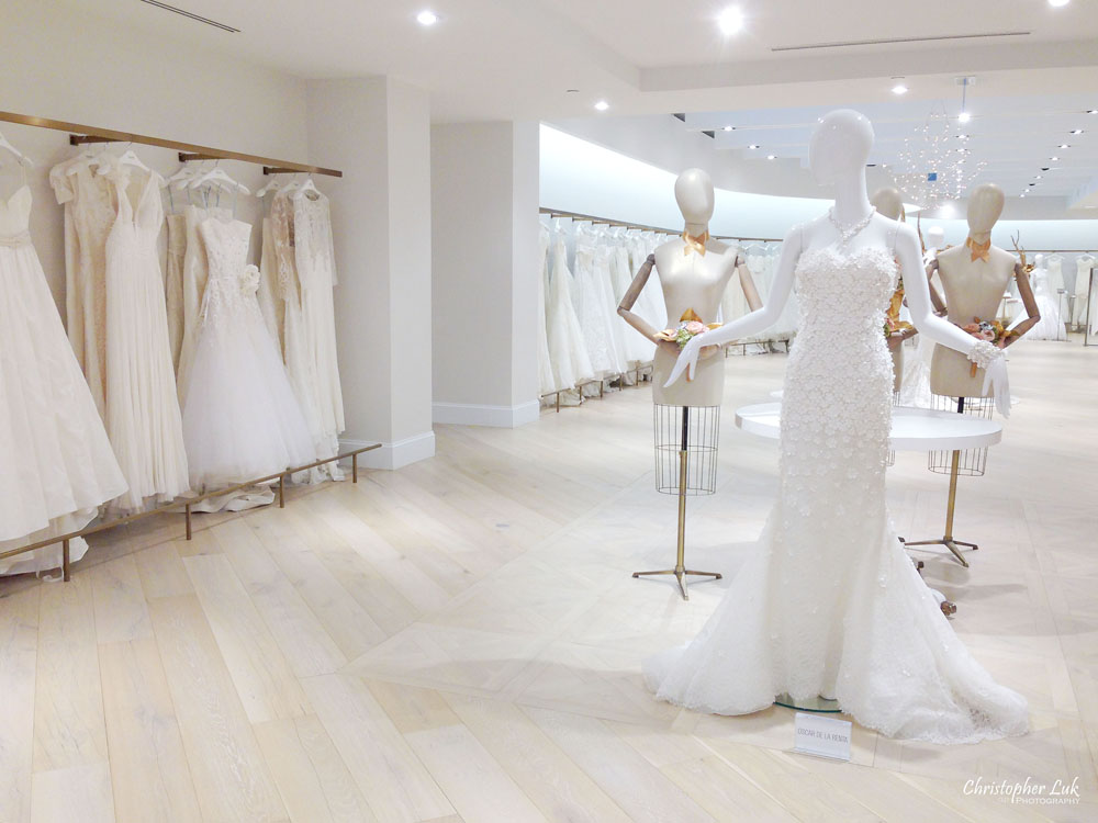 Kleinfeld Bridal Boutique Canada at The Hudson's Bay Company in Downtown Toronto