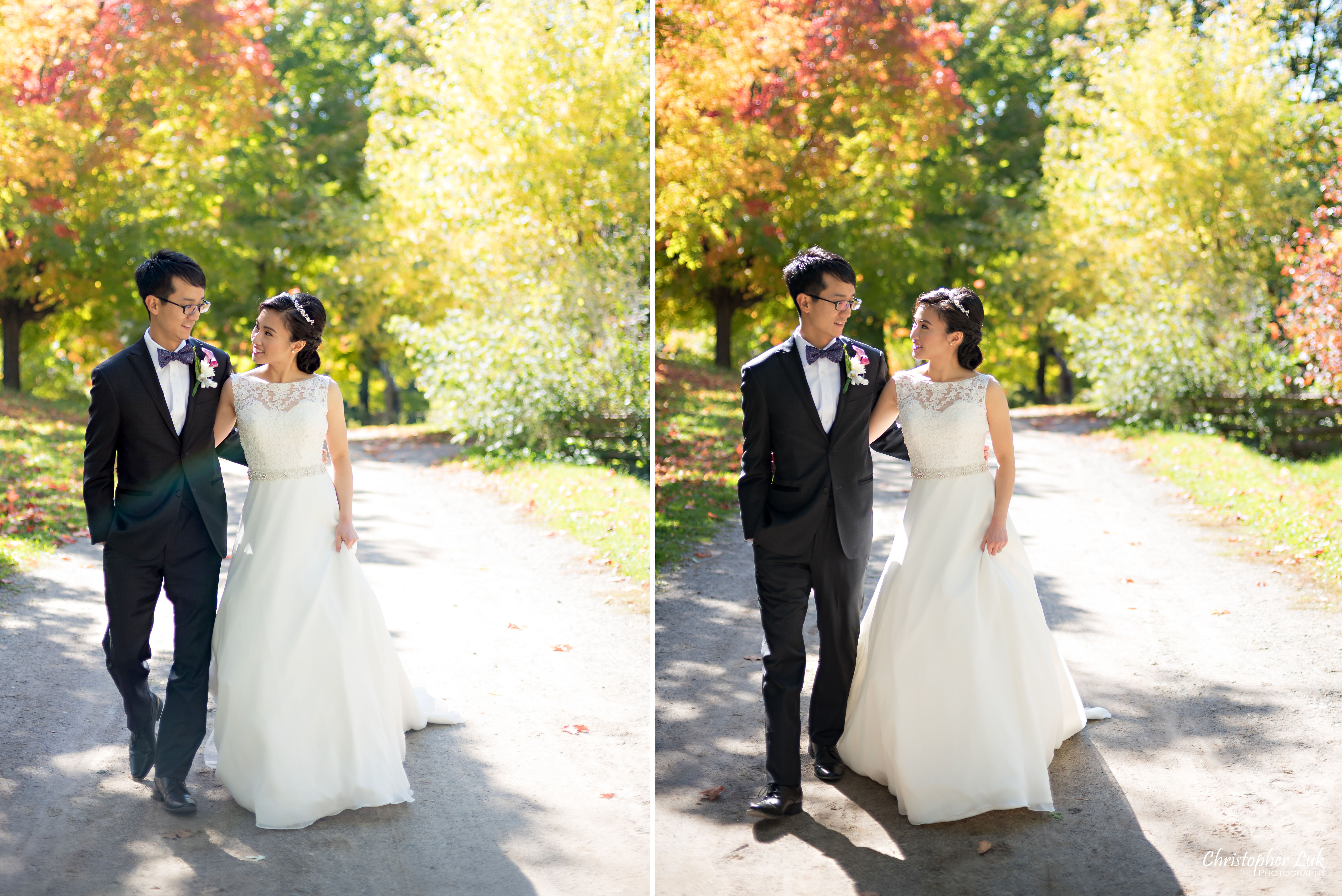 Ying Ying and Alvin's Fall / Autumn Wedding at Black Creek Pioneer Village and By Peter and Paul's Universal EventSpace