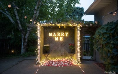 Katelyn and Nick's Markham Backyard Surprise Wedding Proposal – Toronto Wedding Photographer