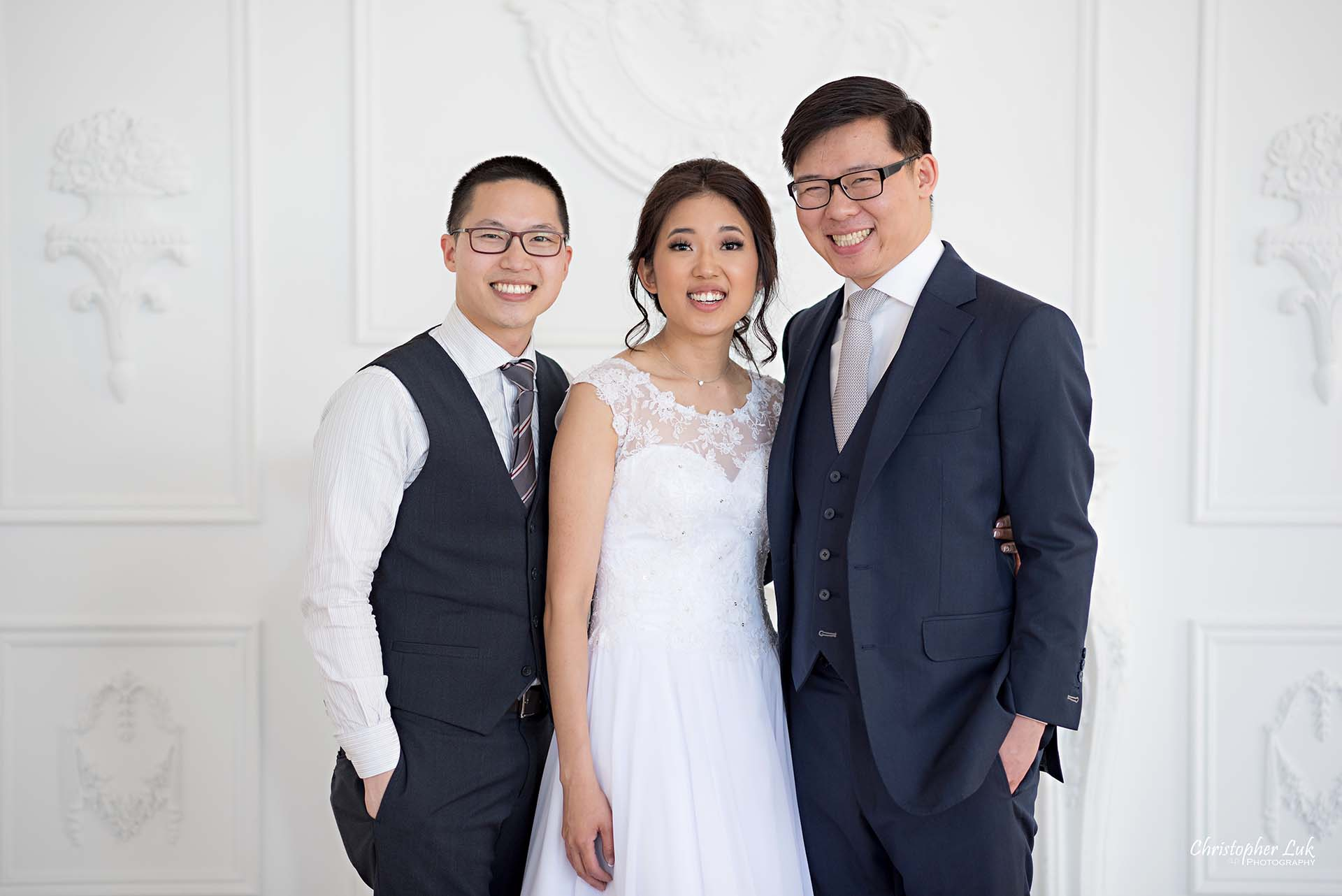 Christopher Luk Toronto Wedding Photographer - Mint Room Studios Bride and Groom Conservatory Ballroom