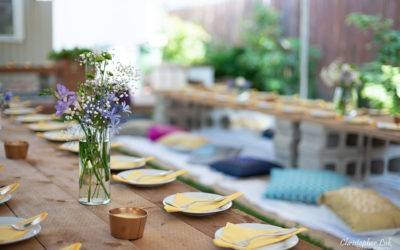Bohemian Boho Chic Toronto Backyard Event