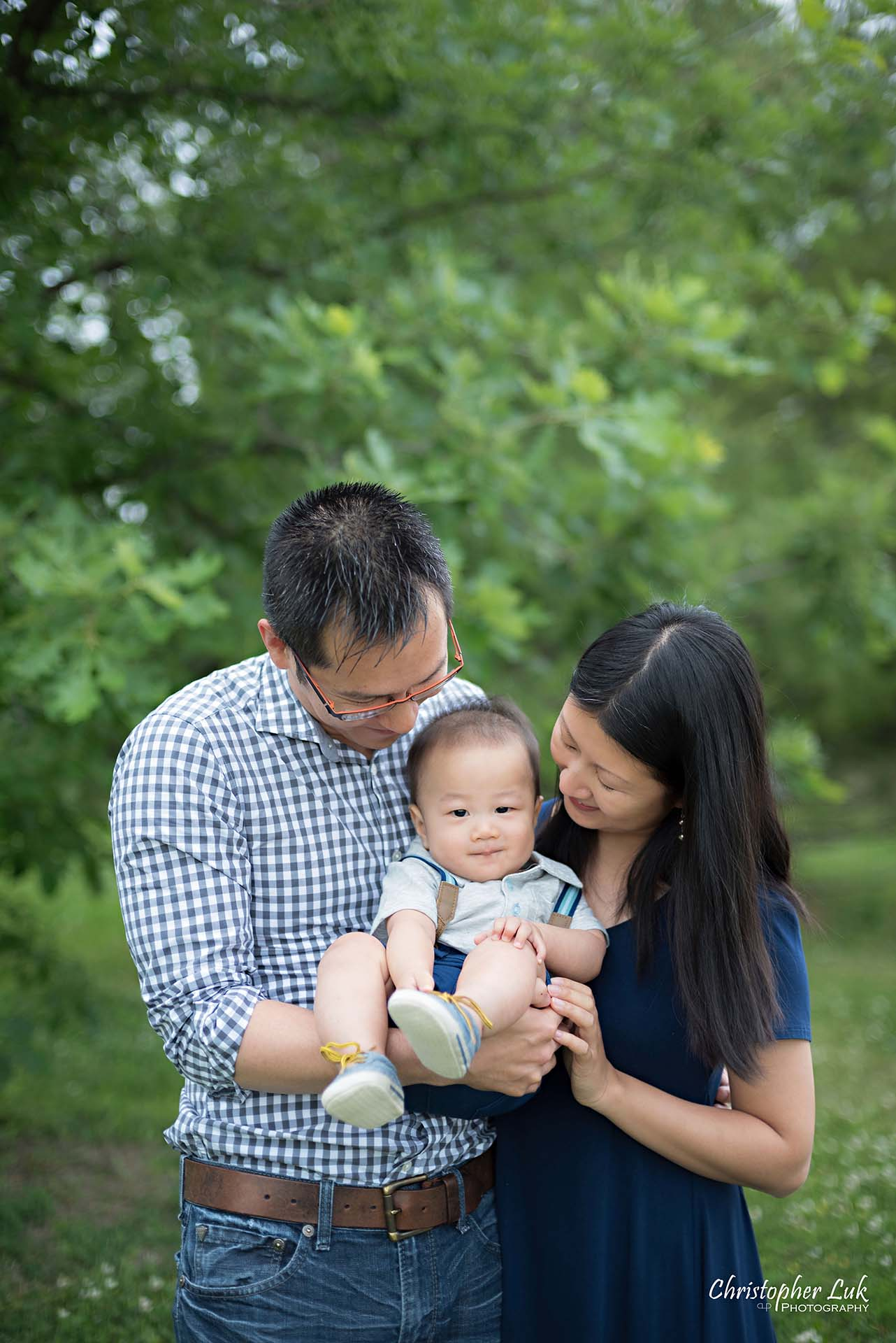 Christopher Luk Family Baby Wedding Photographer Richmond Hill Markham Toronto - Candid Natural Photojournalistic Mother Father Parents Baby Smile Cute Adorable