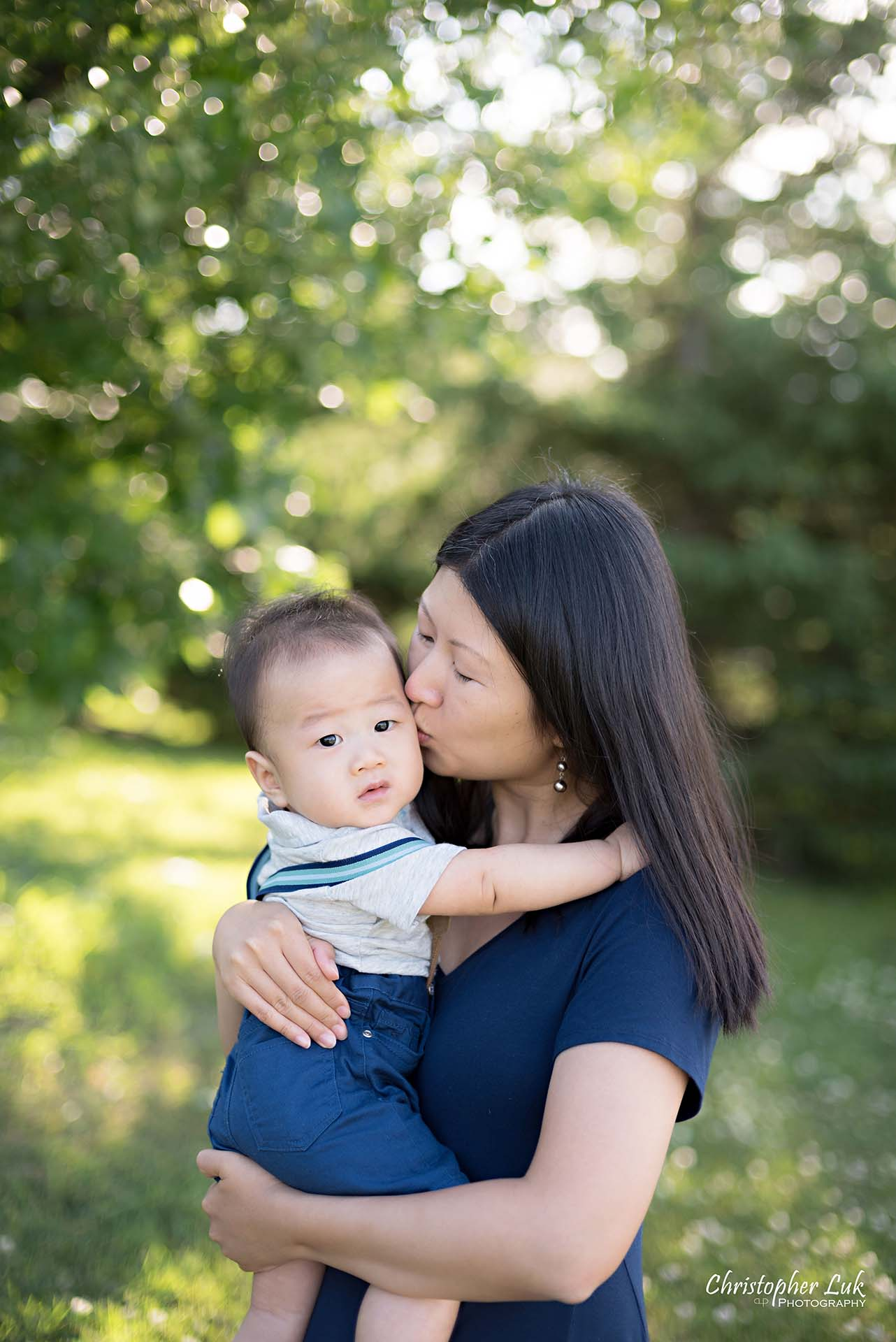 Christopher Luk Family Baby Wedding Photographer Richmond Hill Markham Toronto - Candid Natural Photojournalistic Mother Mom Motherhood Baby Smile Cute Adorable Hold Hug Kiss