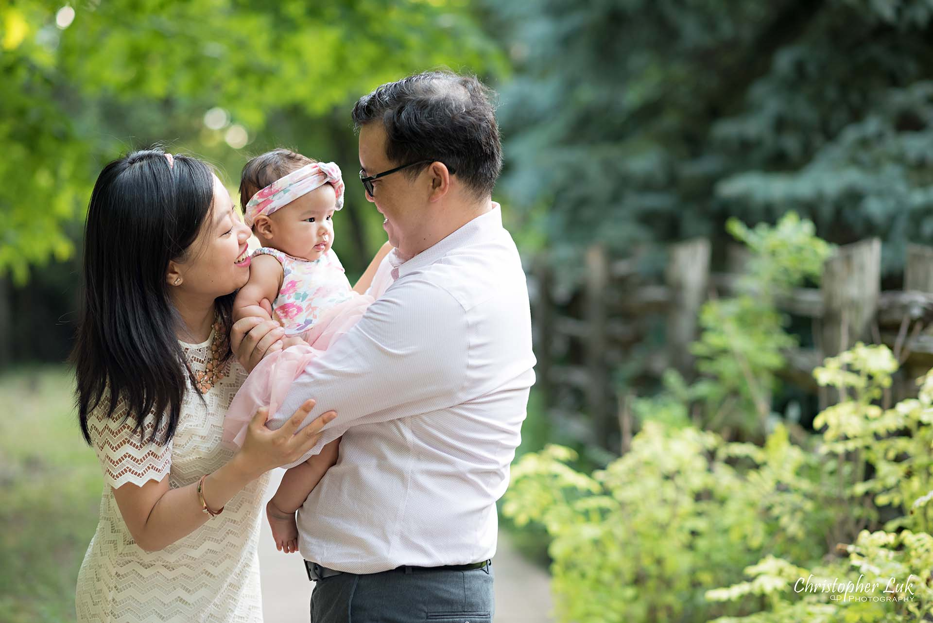 Christopher Luk Toronto Markham Family Children Photographer Candid Photojournalistic Candid Father Dad Baby Girl Daughter Adorable Cute Laugh Smile Mom Mother Hug
