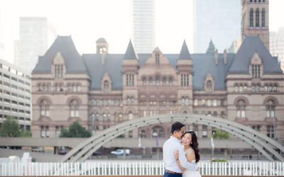 Osgoode Hall, Toronto City Hall, Nathan Philips Square Engagement Session