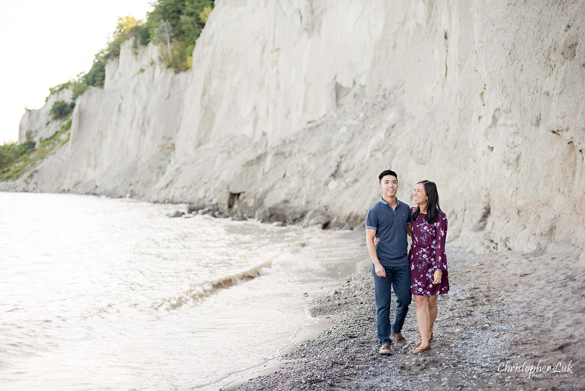 Scarborough Bluffs Beach Park Sunset Surprise Wedding Marriage Engagement Proposal