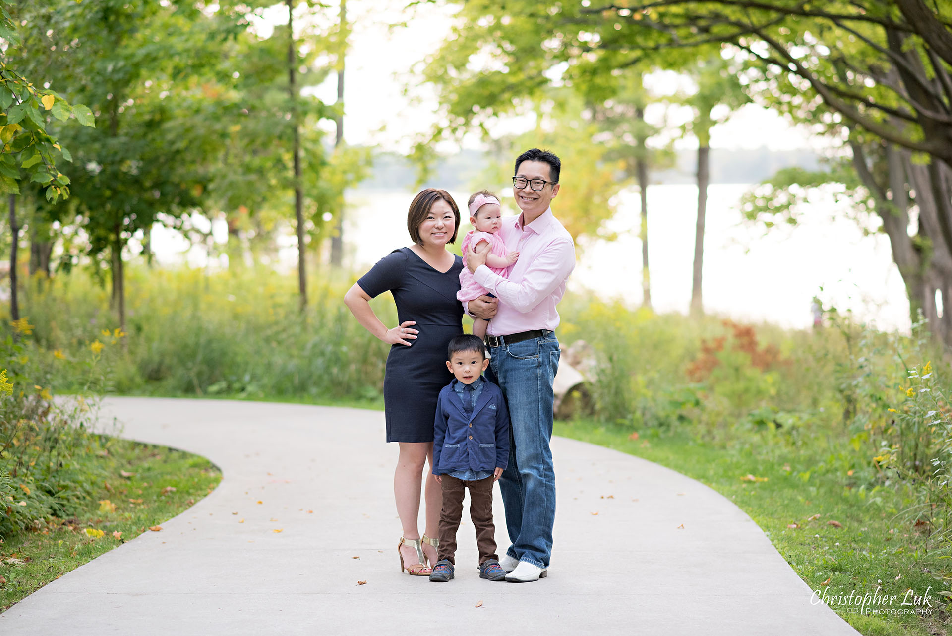 Lake Wilcox Park Richmond Hill Baby and Family Photo Session