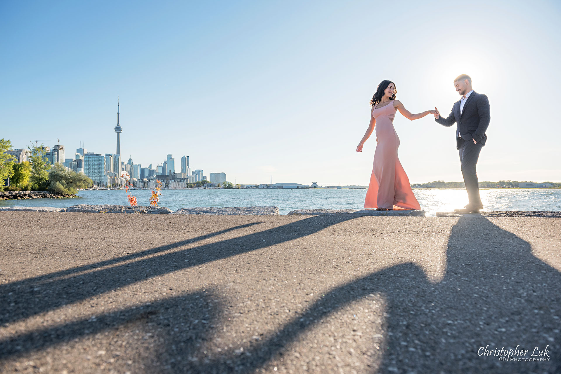 Trillium Park Ontario Place Waterfront Engagement Session