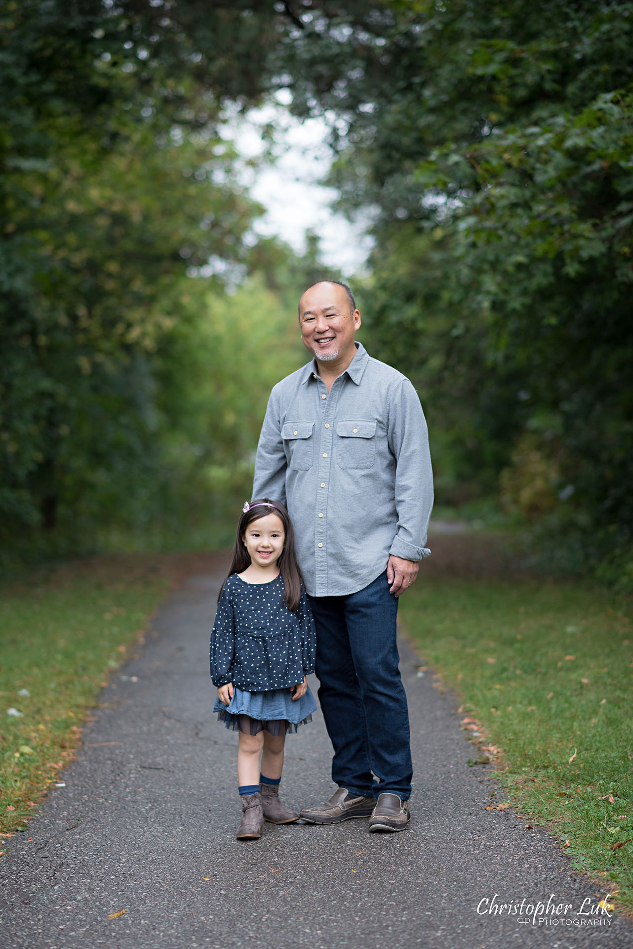 Christopher Luk Family Photographer Toronto Markham Candid Natural Photojournalistic Father Dad Fatherhood Daughter Smile