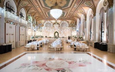 Toronto Fairmont Royal York Hotel Wedding
