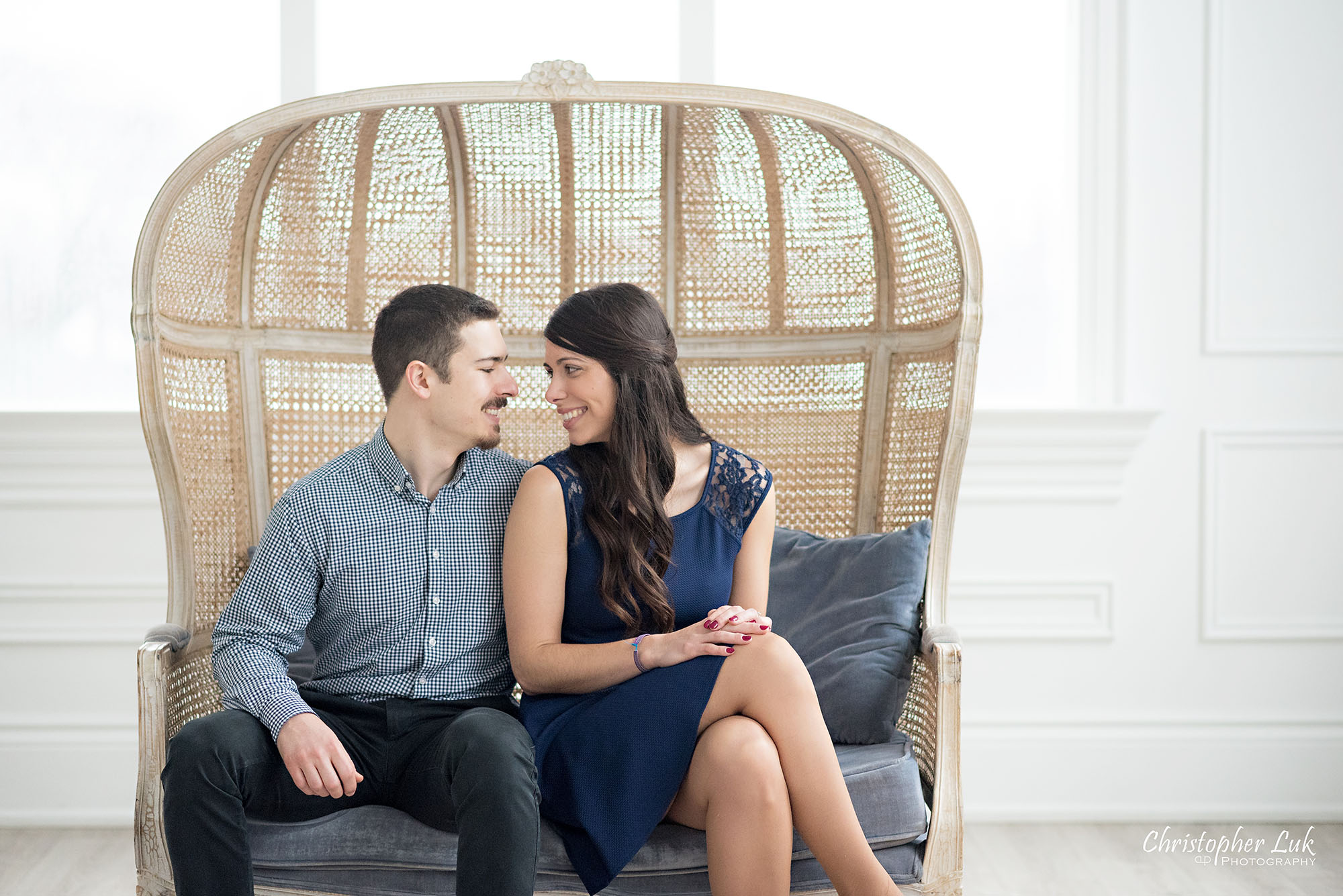 Mint Room Studios Conservatory Toronto Engagement Session