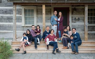 Toronto Markham Grandparents, Children, and Grandchildren Multi-Generational Family