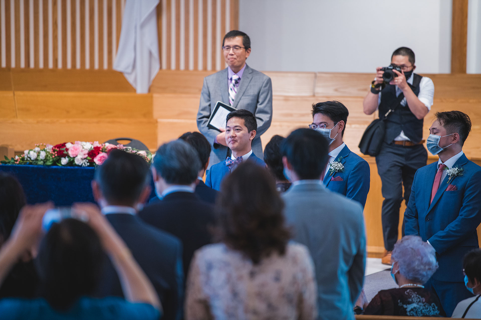 Christopher Luk Toronto Markham Wedding Photographer Church Ceremony Behind the Scenes