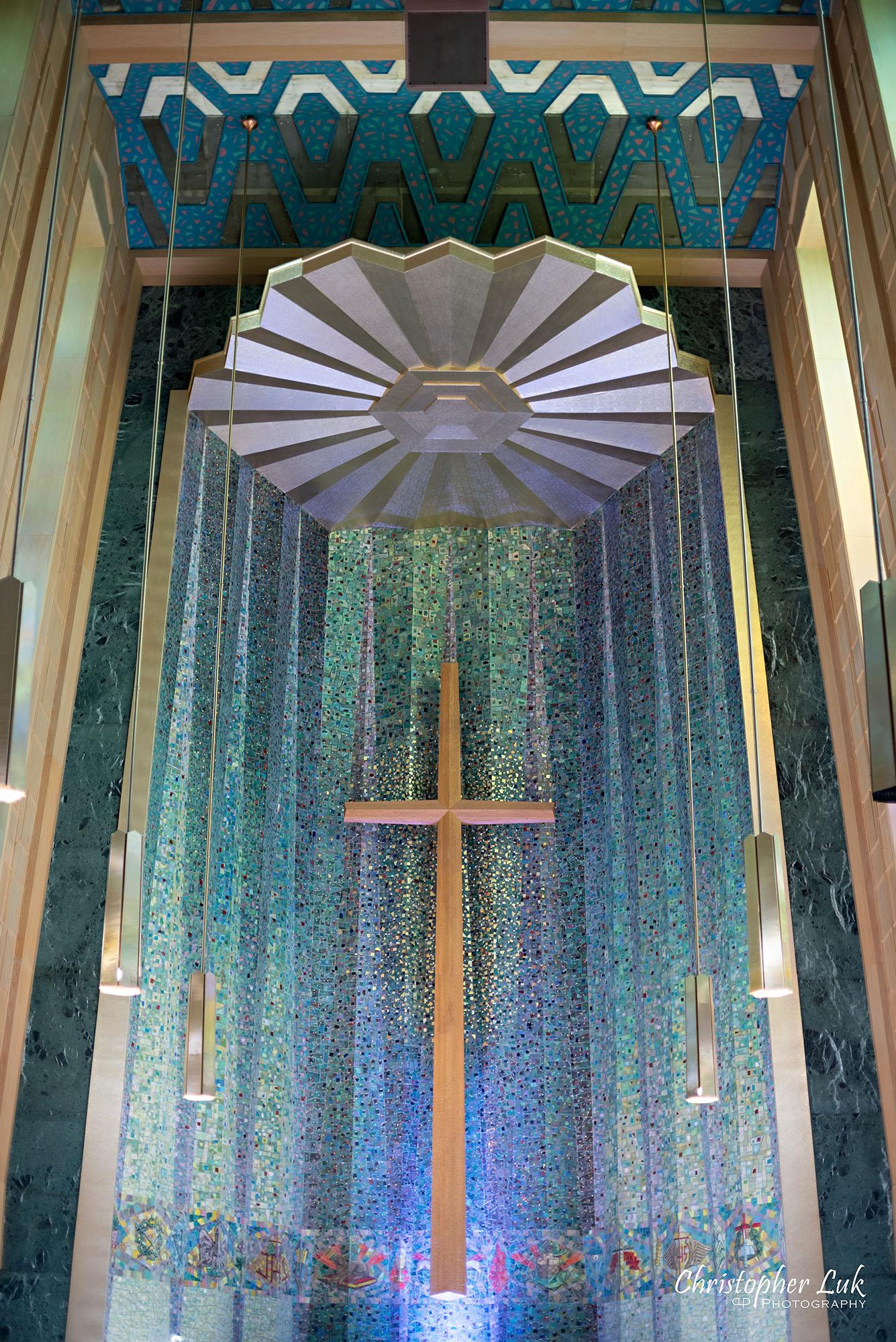 Christopher Luk Toronto Wedding Photography Tyndale Chapel Church Ceremony Venue Location Altar Detail