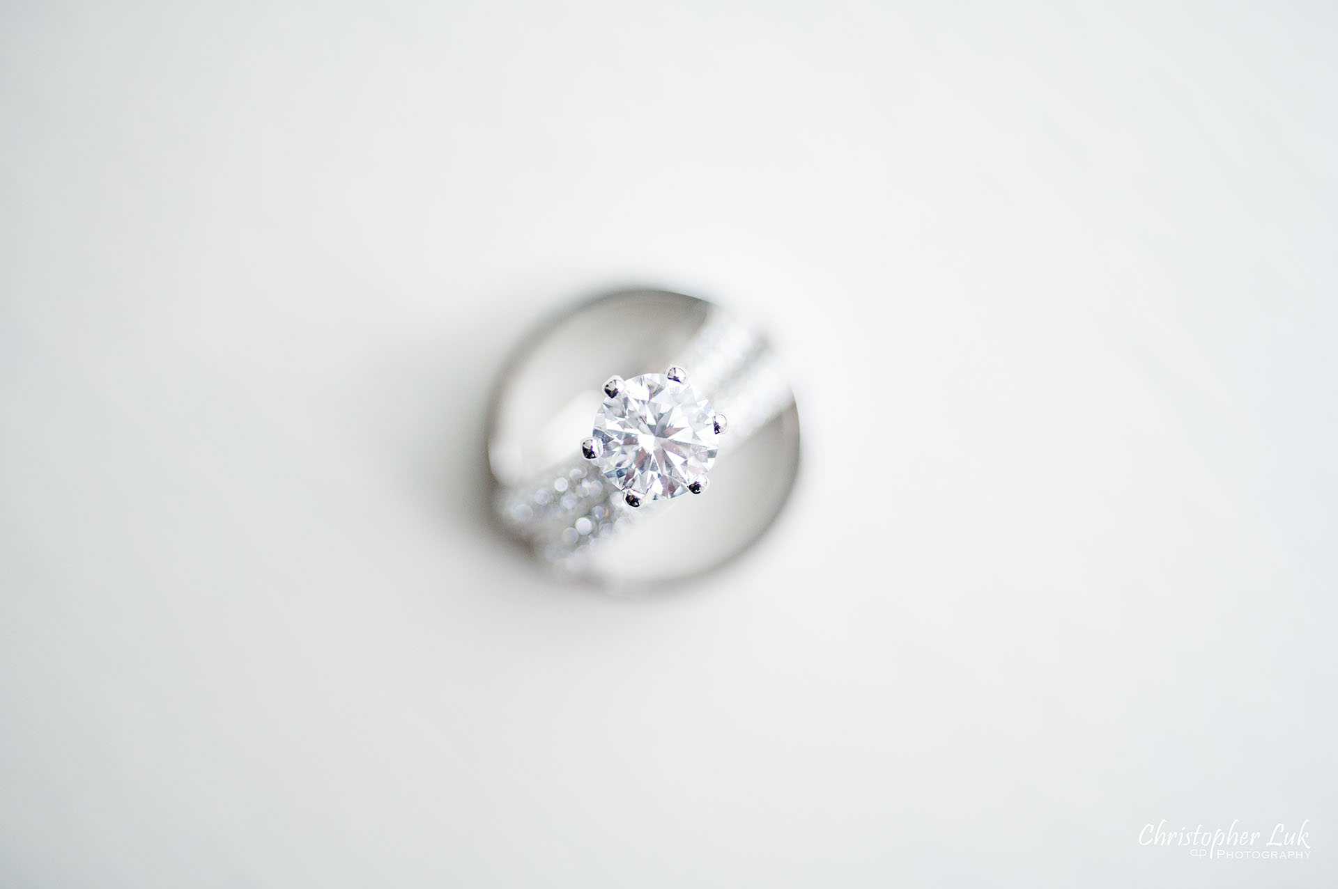 King Edward Hotel Crystal Ballroom Toronto Wedding Photographer MicroWedding Diamond Engagement Ring Gold Wedding Rings Bands